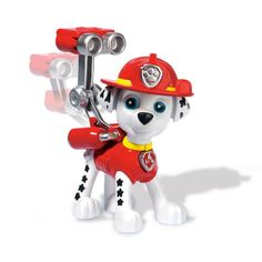 Spin Master - Paw Patrol Paw Patrol Action Pack Pup & Badge Marshall