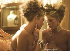 French Revolution Jewelry Shoots - 'Marie Antoinette and Zoya' by Sharon Nayak Lets Them Eat Cake (GALLERY)