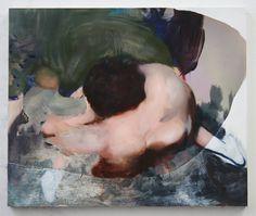 Ambera Wellmann. Foot Foot, oil on wood, 2014