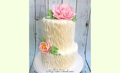 Learn how to make a gorgeous gum paste peony in this My Cake School cake decorating video tutorial!
