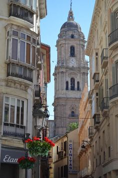 First stop Costa del sol's Malaga. Do love Spain! Places Around The World, Around The Worlds, Malaga City, Beautiful Sites, Beautiful Places, Study Spanish, Monuments, Adventures Abroad, Granada