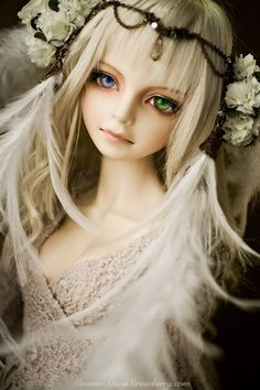 like an angel by Sassy Strawberry, via Flickr