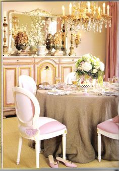 Southern Chateau: Think Pink!