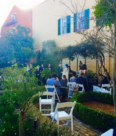 #beaureguardkeyeshouse #pigeoncaterers #frenchquarterceremony #outdoorvows