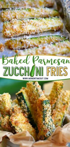 Baked Parmesan Zucchini Fries will be your new favorite way to eat zucchini! This quick and easy summer recipe is loaded with flavor and baked to golden perfection. With just 5 minutes prep time, you can have a crunchy and flavorful appetizer or side dish! Save this pin! Side Dish Recipes, Vegetable Recipes, Easy Dinner Recipes, Beef Recipes, Appetizer Recipes, Vegetarian Recipes, Cooking Recipes, Healthy Recipes, Side Dishes