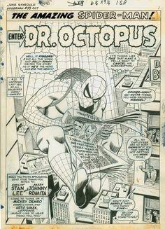 The Amazing Spider-Man #53 by John Romita * - Art Vault