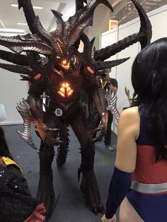 Incredible foam Diablo by LIM cosplay (second place cosplay at Indonesia Comic Con). Shared by The Replica Prop Forum & Keith Olsen.
