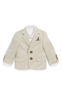 Nordstrom 'Daniel' Linen Blend Blazer (Baby Boys) available at #Nordstrom
