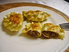 Domogród: Pierogi z mięsem i kaszą gryczaną