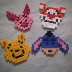 Winnie the Pooh hama beads by alex.hocde
