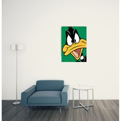 DAFFY - Daffy Duck 60x85 cm #artprints #interior #design #art #print #cartoon  Scopri Descrizione e Prezzo http://www.artopweb.com/categorie/cartoni/EC18445