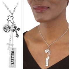 Do you believe we have the power to end hunger?  This Believe Charm Necklace funds 25 cups of food for the hungry!  Click here to help fight hunger =>  https://hopefaithlove.greatergood.com/store/hfl/item/49266/believe-charm-necklace?origin=HFLS_PIN_DALE_ADGROUP_ECOMM_BELIEVECHRMNA_1030