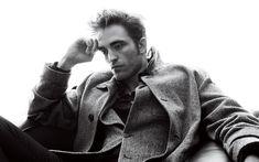 壁紙をダウンロードする ロバート-Pattinson, 英国の俳優, 4k, 肖像, 冬のドレス撮影
