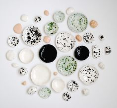 OUI dishes & ceramic rocks