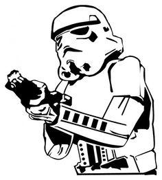 Star Wars Stormtrooper Decal Vinyl Sticker works by Allstarsports, $4.99