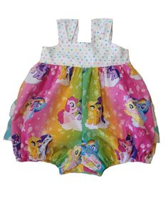 My Little Pony Ruffled Bubble Romper Sunsuit for Girls 44.95