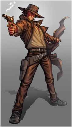 Paul colour comission by *Brolo on deviantART Character Concept, Character Art, Concept Art, Character Creation, U2 Poster, Westerns, Superhero Stories, The Dark Tower, West Art