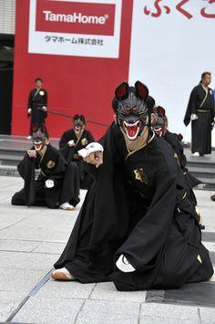 Japanese Fox, Japanese Mask, Japanese Folklore, Fashion Mask, Kimono Fashion, Japanese Gangster, Fox Spirit, Samurai Art, Japan Photo
