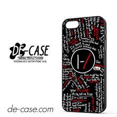 Twenty One Pilots Lyrics DEAL-11475 Apple Phonecase Cover For Iphone SE Case