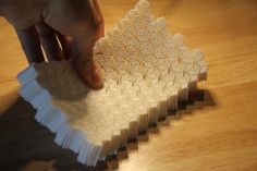 Incredible Bendable Mesostructured 3D Prints: http://3dprint.com/2739/bastian-mesostructured/