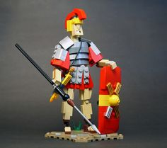 The Roman war machine was an impressive force in its time and to this day inspires many people, for better or for worse. This time it is for the better, as the Russian LEGO building duo Dmitriy and Anna have created an extremely expressive legionnaire using a relatively limited selection of bricks. There are many …