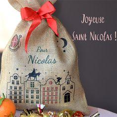 Saint-Nicolas #saintnicolas #6décembre #sac #hotte #noel