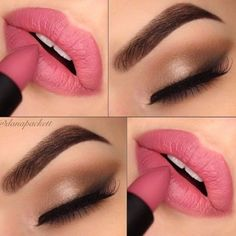 Maquillaje de novia para labios y ojos ¡Vota tu favorito!