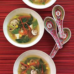 Get the best vegetarian soup recipes from trusted magazines, cookbooks, and more. You'll find recipe ideas complete with cooking tips, member reviews, and ratings.
