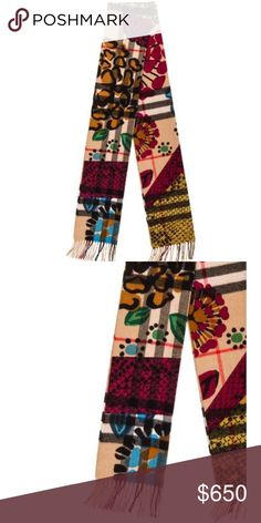 Burberry printed reversible scarf. 💯 authentic This is a gorgeous and  authentic Burberry printed scarf 033a6ea4f827b