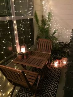 ideas small apartment patio decor yards for 2019 Apartment Balcony Decorating, Apartment Balconies, Cool Apartments, Apartment Plants, Apartment Design, Apartment Patios, Apartment Door, Apartment Ideas, Apartment Therapy