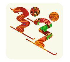 Pictogram Olympic Games 2014 Sochi