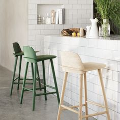Buy Muuto Nerd Bar Stool online with Houseology Price Promise. Full Muuto collection with UK & International shipping. Oak Bar Stools, Counter Bar Stools, Counter Stools With Backs, Eames Chairs, Bar Chairs, Dining Chairs, Office Chairs, Room Chairs, Mad About The House