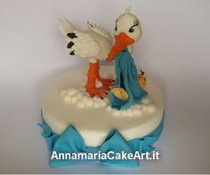 Ed ecco pronto il primo Cake Topper!...quello del maschietto ed ora completerò il topper della sorellina ;)  #CakeDesign #AnnamariaCakeArt #cakes #cakedecorating #modelling #caketopper #cakemania  #sugarart #cakeart #arts #fondant #cakeartist #cake #pastadizucchero #zucchero #cakeboss #sugarcraft #cakehomemade #battesimo #baby #cicogna
