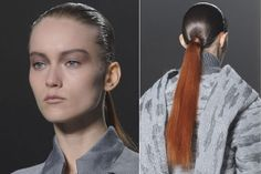 """Punk. At Alexander Wang, Guido sewed long, rusty ponytails on each model. The bottom line? Go big or go home. """"The fakeness of the look is part of the appeal,"""" says Guido.  Read more: Fall 2013 Hair Trends - Best Hair Trends for Fall 2013 - Harper's BAZAAR  Follow us: @Kerry Pieri on Twitter 