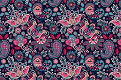 Check out 2 Floral Seamless Patterns by Sunny_Lion on Creative Market
