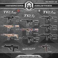 Honorcore nuevos modelos y prototipos que están por comercializarse