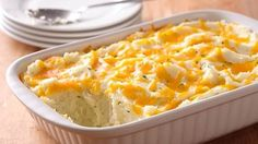 Two-Cheese and Rosemary Mashed Potato Casserole