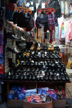 shoes in Chinatown