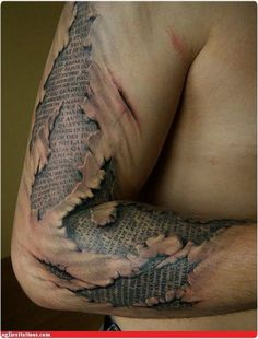 it's what's under the skin - Peeling Tattoo