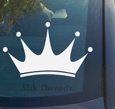 Princess Crown Vinyl Decal Sticker | eBay $3.49 www.vinyldecaldepot.com