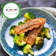 Lachs mit Sesamkruste und Brokkoli Salmon with sesame crust and broccoli - healthy recipe for dinner Meatloaf Recipe With Cheese, Beef Meatloaf Recipes, Classic Meatloaf Recipe, Healthy Meatloaf, How To Cook Meatloaf, Stuffing Recipes, Beef Recipes, Healthy Muffin Recipes, Healthy Meal Prep
