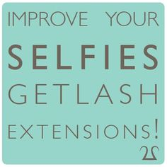 Improve your SELFIES! Get LASH EXTENSIONS! http://www.202medspa.com/body/eyelash-extensions/ Nail Design, Nail Art, Nail Salon, Irvine, Newport Beach