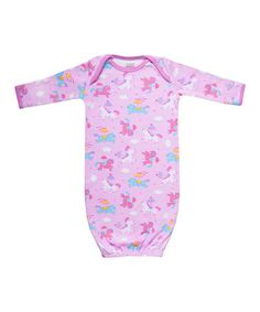 Love this Pink Carousel Pony Organic Gown - Infant by Funkoos on #zulily! #zulilyfinds