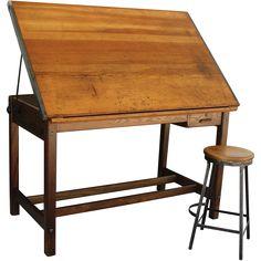 Beautiful Drafting Table Bar
