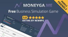 MoneyGame is a recently launched free browser-based business simulation game, entirely free without pay-to-win elements. Money Games, Simulation Games, Words, Business, Free, Store, Business Illustration, Horse
