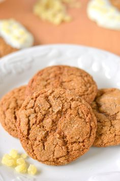 Chewy 100% Whole Wheat Gingersnaps