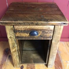 CHOOSE FROM 1, 2 OR 3 DRAWER NIGHT STANDS Dimensions - 22x19x30 All drawers come with bronzes pulls handle by default, unless wood is specifically requested. We have the ability to custom build furnit