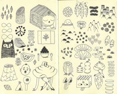 page from notebook | Ginette Lapalme, ginettesqulette