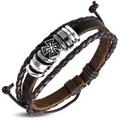 Leren Ibiza armband