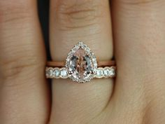 This wedding is designed for those who love simple with a slight twist. Pear shape has been growing in popularity due to its unique shape and feminine